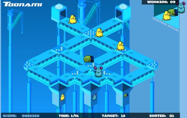 Играть онлайн в игру Toon Shift, скачать флеш игру Toon Shift